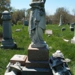 One Of The Monuments The Friends of Eastern Cemetery Are Working To Restore